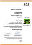 NDMA Certificate